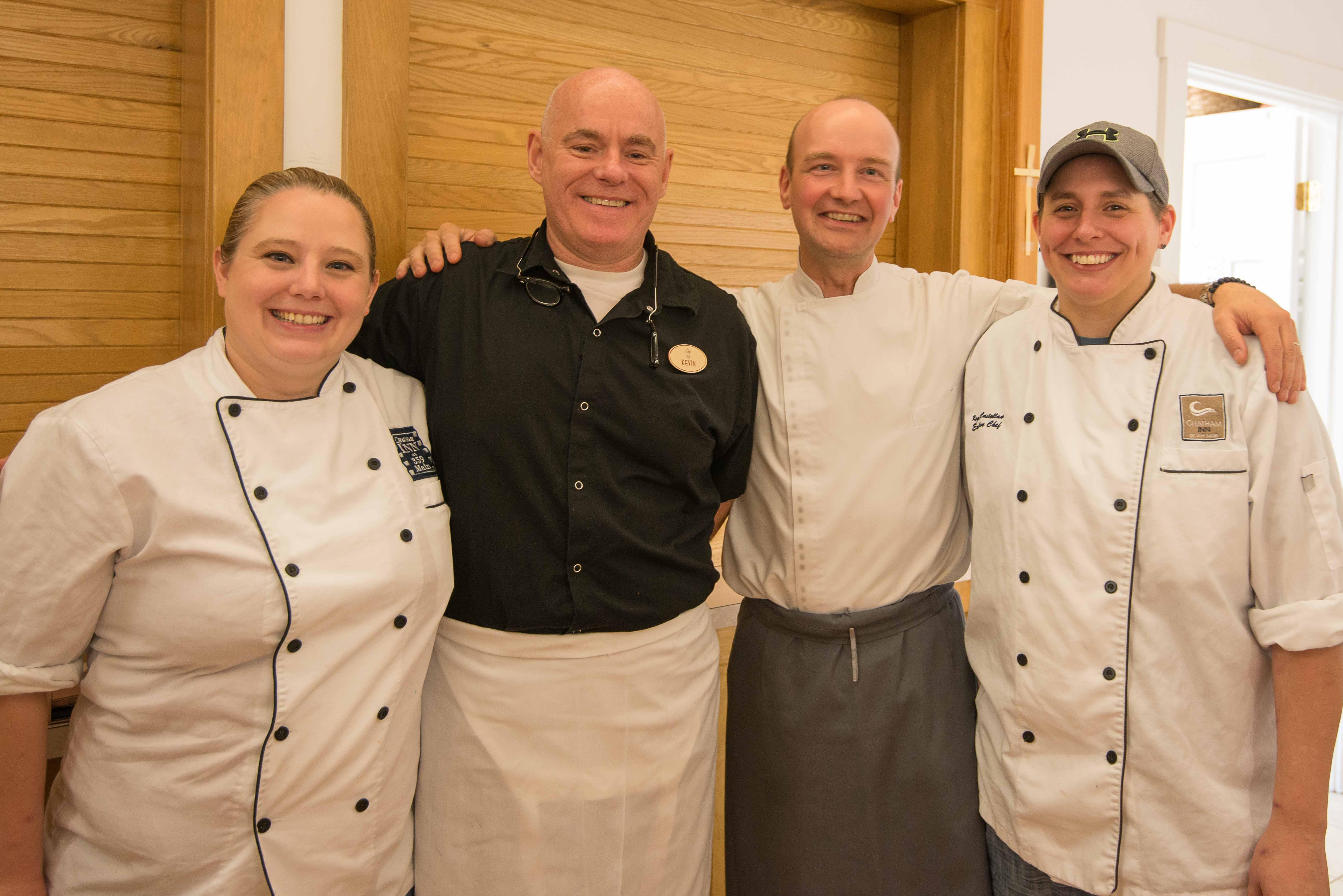 Brandi, Kevin Case & Jonathan of Vers, Chef Regina