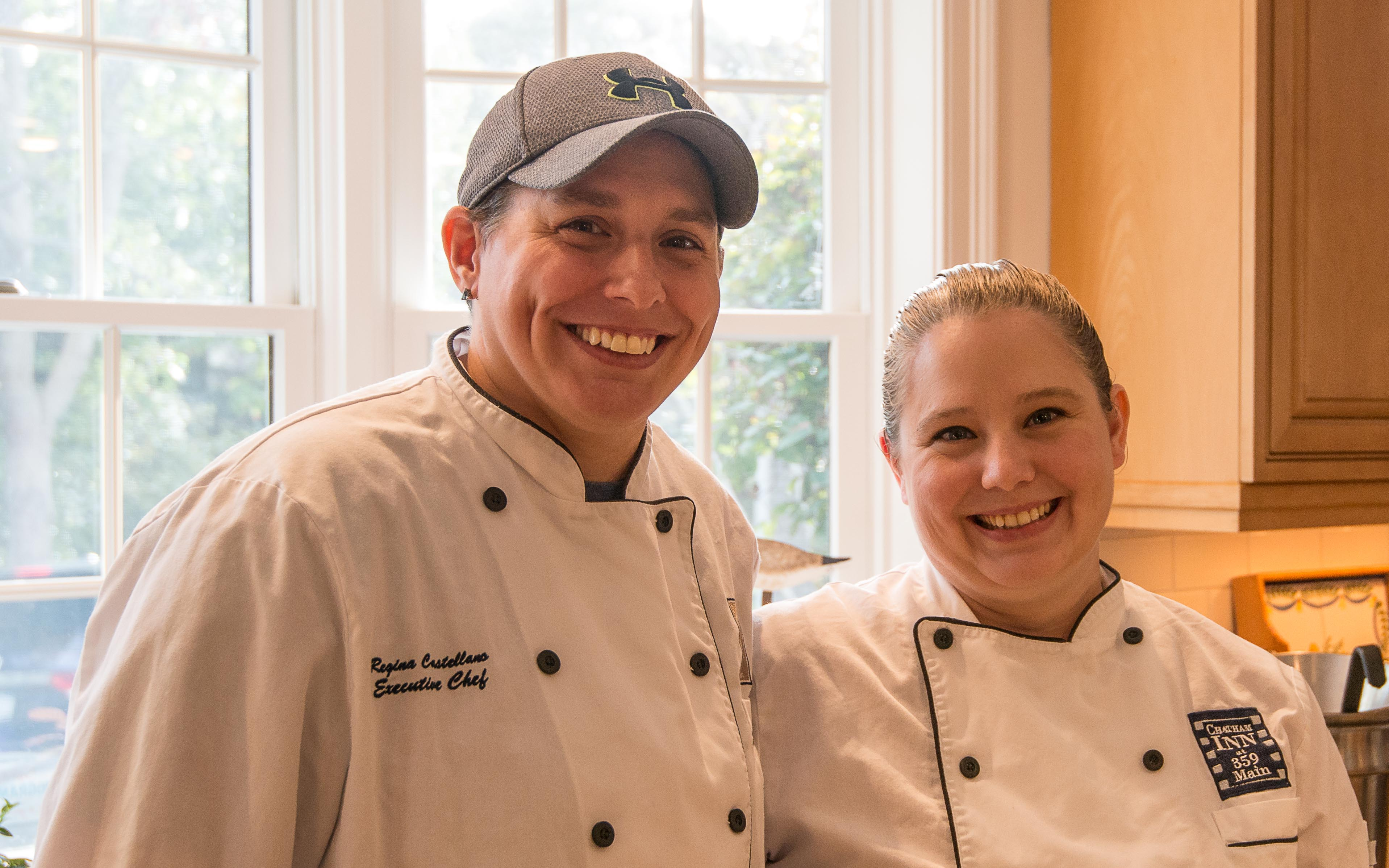 Chef Regina & Brandi