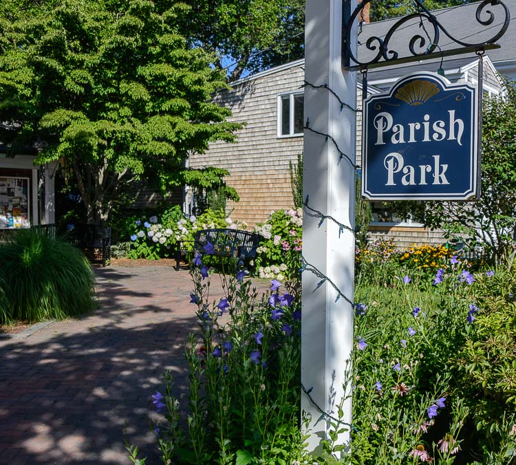 new for web parish park with sign