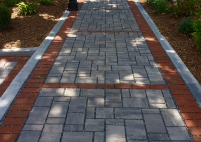 Theresa's Way - New Stone Paving